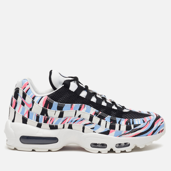 Кроссовки Nike Air Max 95 Country Pack Korea Summit White/Black/Royal Tint/Racer Pink