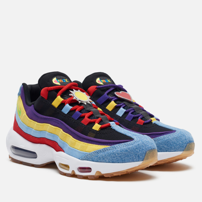 Кроссовки Nike Air Max 95 SP Multi-Color Psychic Blue/Chrome Yellow/White
