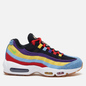 Кроссовки Nike Air Max 95 SP Multi-Color Psychic Blue/Chrome Yellow/White фото - 3