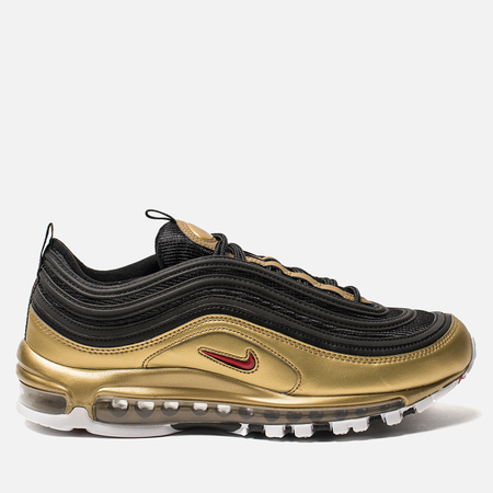 Кроссовки Nike Air Max 97 QS Black/Varsity Red/Metallic Gold/White