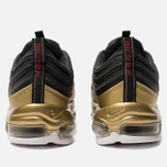 Кроссовки Nike Air Max 97 QS Black/Varsity Red/Metallic Gold/White фото- 3