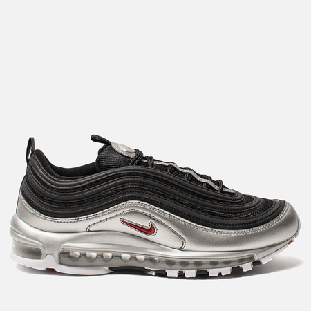 Кроссовки Nike Air Max 97 QS Black/Varsity Red/Metallic Silver/White