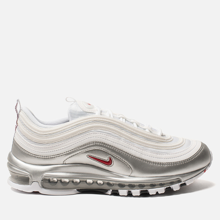 Кроссовки Nike Air Max 97 QS White/Varsity Red/Metallic Silver/Black