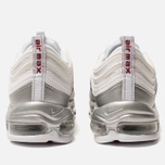 Кроссовки Nike Air Max 97 QS White/Varsity Red/Metallic Silver/Black фото- 3