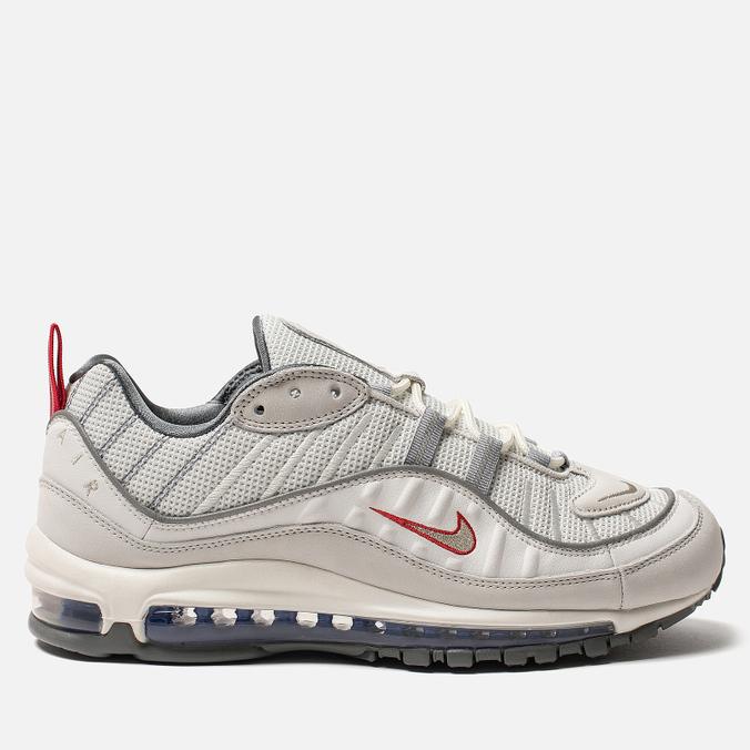 Кроссовки Nike Air Max 98 Summit White/Metallic Silver