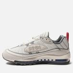 Кроссовки Nike Air Max 98 Summit White/Metallic Silver фото- 2