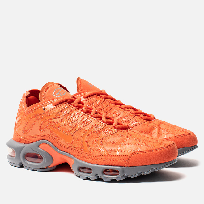 Кроссовки Nike Air Max Plus Deconstructed Electro Orange/Electro Orange/Cool Grey
