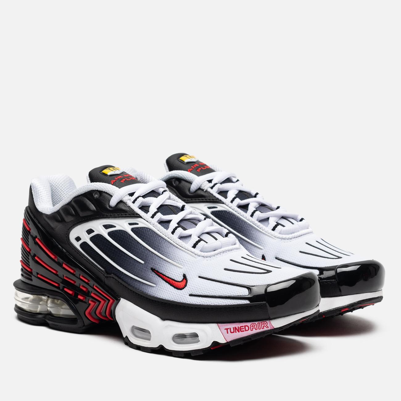 Кроссовки Nike Air Max Plus III Black/University Red/White/Black