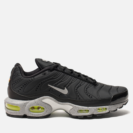 Кроссовки Nike Air Max Plus PRM Black/Matte Silver/Volt/Wolf Grey