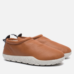Кроссовки Nike Air Moc Bomber Brown/White фото- 1