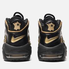 Кроссовки Nike Air More Uptempo '96 France QS IP Black/Metallic Gold фото- 2
