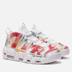 Кроссовки Nike Air More Uptempo '96 London QS IP Amarillo/White/Speed Red/Neptune Green