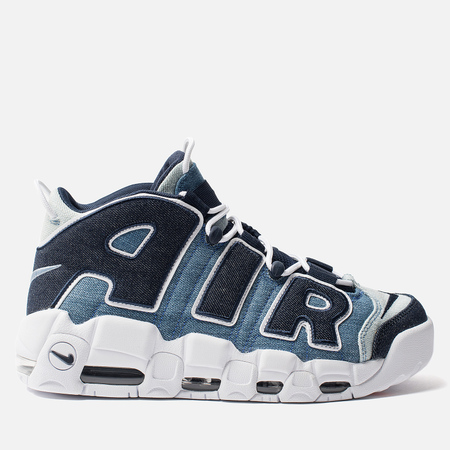 Кроссовки Nike Air More Uptempo 96 QS White/Obsidian/Total Orange