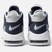 Кроссовки Nike Air More Uptempo 96 QS White/Obsidian/Total Orange фото- 2