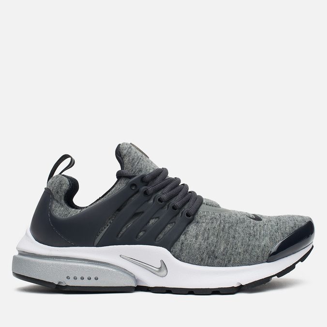 Мужские кроссовки Nike Air Presto TP QS Tumbled Grey/Anthracite/White/Black
