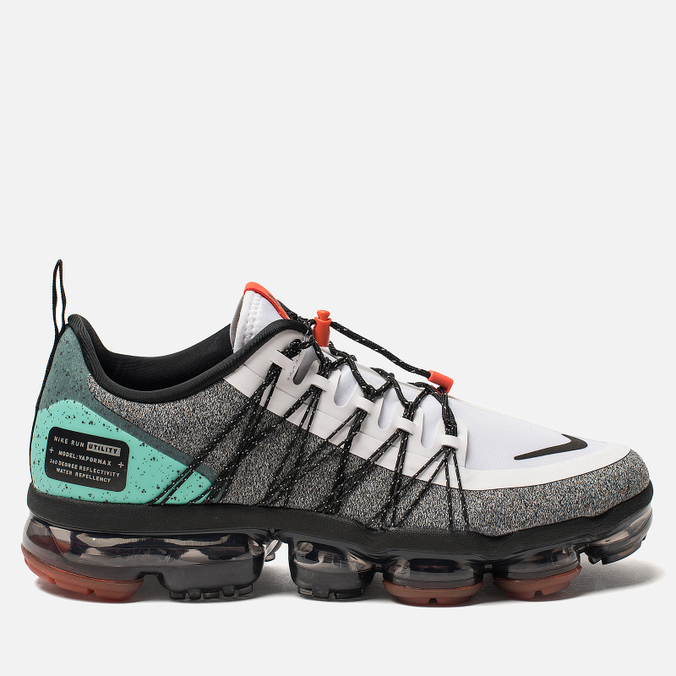 Кроссовки Nike Air Vapormax Run Utility NRG White/Black/Tropical Twist/Team Orange