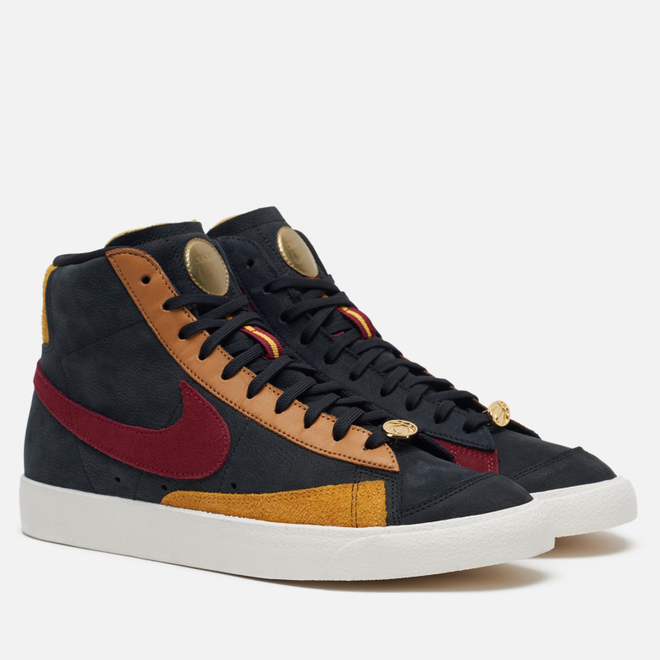 Кроссовки Nike Wmns Blazer Mid 77 QS Dorothy Gaters Black/Team Red/University Gold/Flax