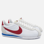 Nike Classic Cortez AW QS Men's Sneakers White/Varsity Red photo- 1