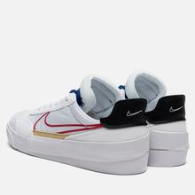 Кроссовки Nike Drop Type HBR White/University Red/Deep Royal Blue фото- 2