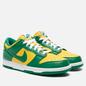 Мужские кроссовки Nike Dunk Low SP Brazil Varsity Maize/Pine Green/White фото - 0