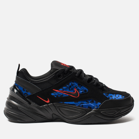 Кроссовки Nike M2K Tekno Animal Black/Habanero Red/Racer Blue