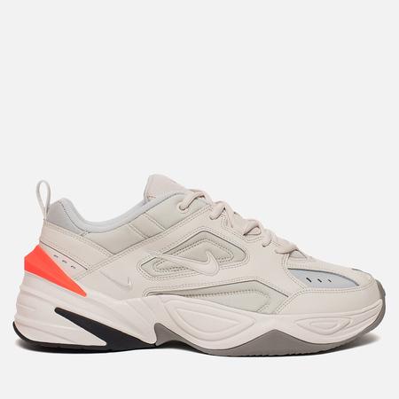 Женские кроссовки Nike M2K Tekno Phantom/Olive Grey/Matte Silver/Hyper Crimson
