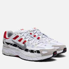 Кроссовки Nike P-6000 White/Particle Grey/University Red фото- 0