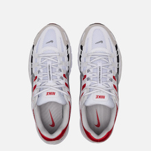 Кроссовки Nike P-6000 White/Particle Grey/University Red фото- 1