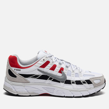 Кроссовки Nike P-6000 White/Particle Grey/University Red фото- 3