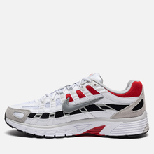 Кроссовки Nike P-6000 White/Particle Grey/University Red фото- 5