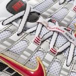 Кроссовки Nike P-6000 White/Varsity Red/Metallic Platinum фото- 6
