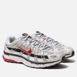 Кроссовки Nike P-6000 White/Varsity Red/Metallic Platinum фото- 1