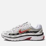 Кроссовки Nike P-6000 White/Varsity Red/Metallic Platinum фото- 2