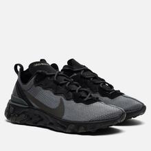 Кроссовки Nike React Element 55 Black/Sequoia/Medium Olive фото- 0