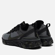 Кроссовки Nike React Element 55 Black/Sequoia/Medium Olive фото- 2