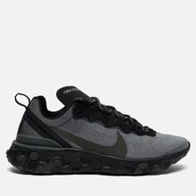 Кроссовки Nike React Element 55 Black/Sequoia/Medium Olive фото- 3