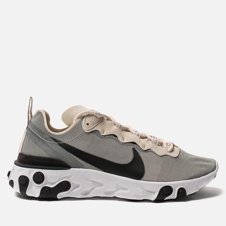 Кроссовки Nike React Element 55 Light Orewood Brown/Black/White/Cool Grey