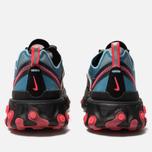 Кроссовки Nike React Element 87 Black/Cool Grey/Blue Chill/Solar Red фото- 3