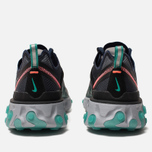 Кроссовки Nike React Element 87 Black Neptune Green Bright Mango Midnight  Navy фото 853173f2844