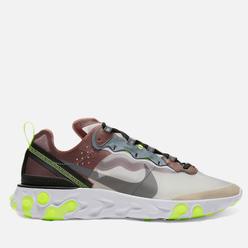 Кроссовки Nike React Element 87 Desert Sand/Cool Grey/Smokey Mauve