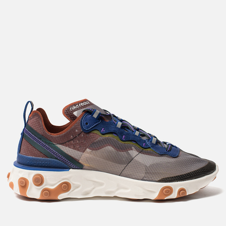 Кроссовки Nike React Element 87 Dusty Peach/Atmosphere Grey