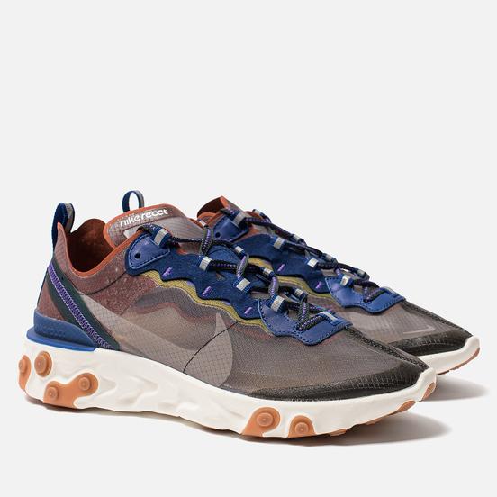 Кроссовки Nike React Element 87 Dusty Peach/Atmosphere Grey
