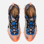 Кроссовки Nike React Element 87 Wolf Grey/Black/Thunder Blue фото- 5