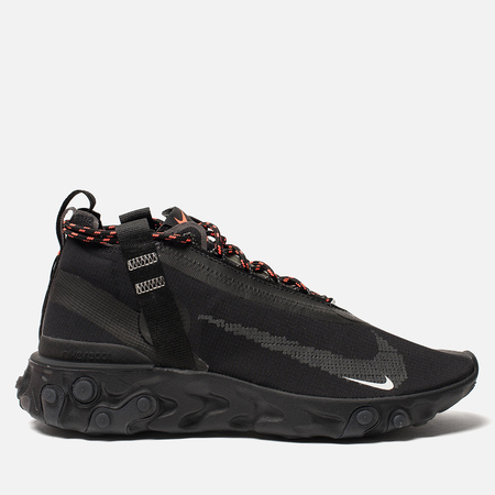 Кроссовки Nike React Mid WR ISPA Black/White/Anthracite/Total Crimson