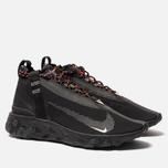 Кроссовки Nike React Mid WR ISPA Black/White/Anthracite/Total Crimson фото- 2