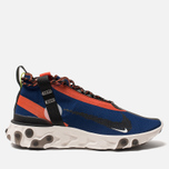 Кроссовки Nike React Mid WR ISPA Blue Void/Black/Team Orange/Phantom фото- 0