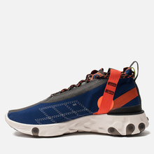 Кроссовки Nike React Mid WR ISPA Blue Void/Black/Team Orange/Phantom фото- 5