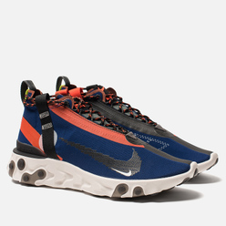 Кроссовки Nike React Mid WR ISPA Blue Void/Black/Team Orange/Phantom