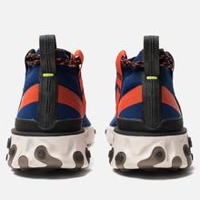 Кроссовки Nike React Mid WR ISPA Blue Void/Black/Team Orange/Phantom фото- 2