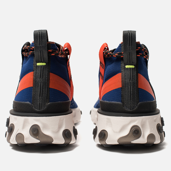 Мужские кроссовки Nike React Mid WR ISPA Blue Void/Black/Team Orange/Phantom